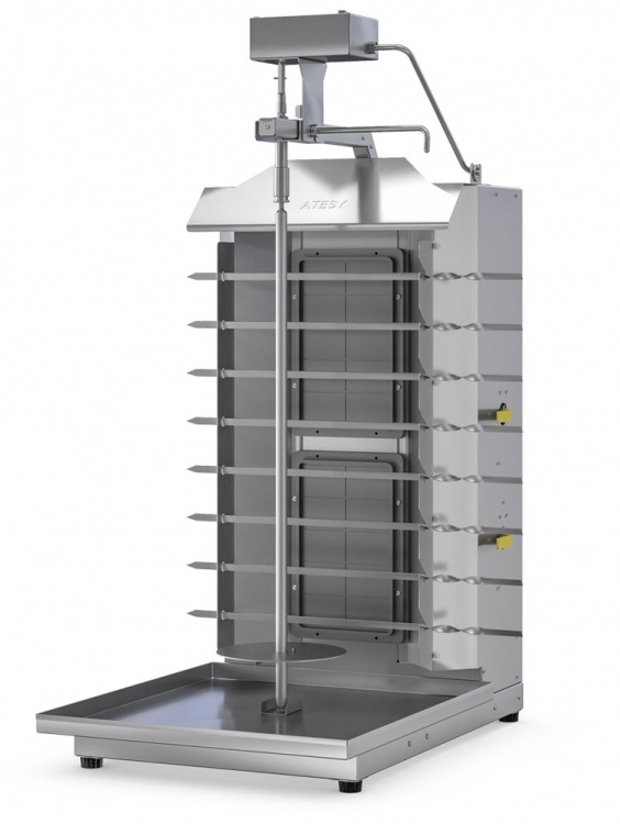 Установка Шаурма-2М с электроприводом