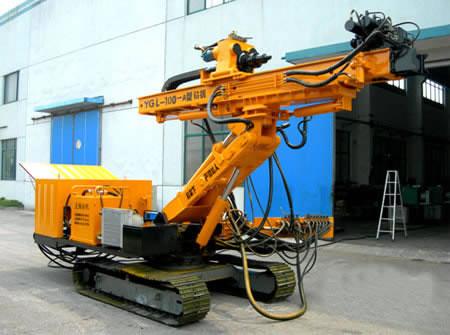Купить Гидравлический буровой станок на гусеничном ходу YGL-100A