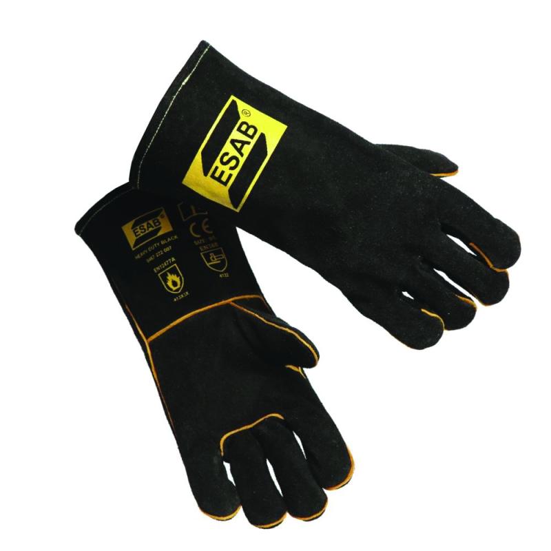 Перчатки сварщиков ESAB Heavy Duty Black
