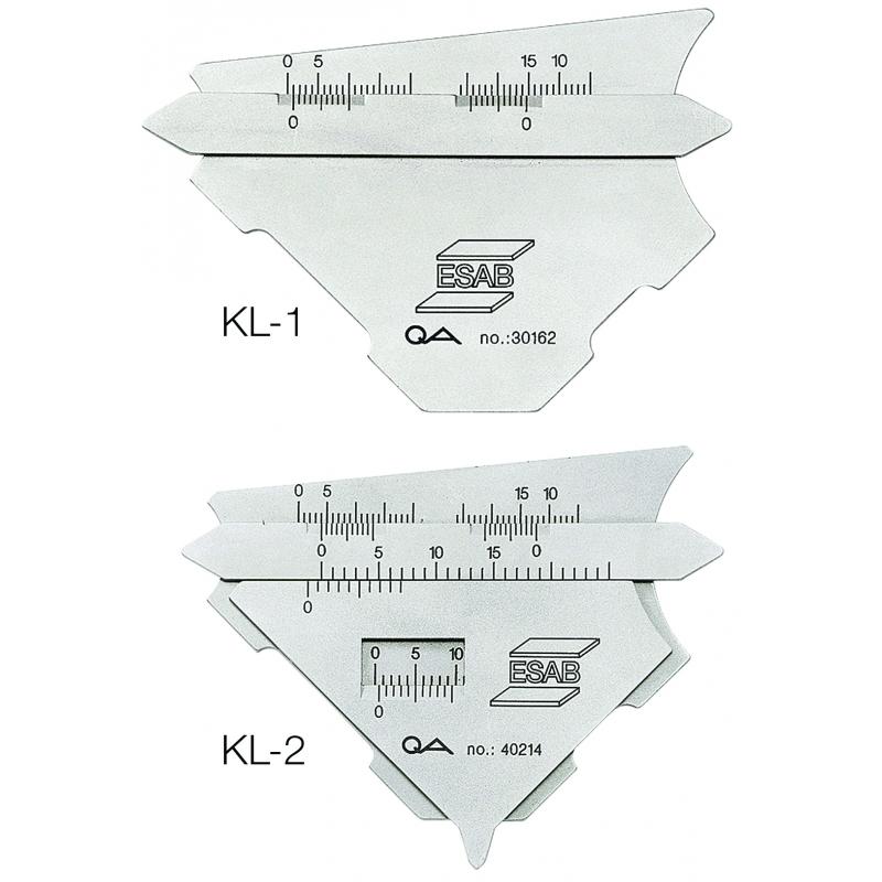 Шаблон сварщика KL1 и KL2