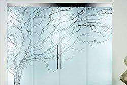 Купить Пескоструйное стекло Crystal Glass