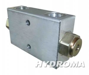 Купить Клапан тормозной VSO-DE-G-12-MP, opening pressure 8 bar, G 1/2, max. 350 bar, pilot ratio 3,2:1