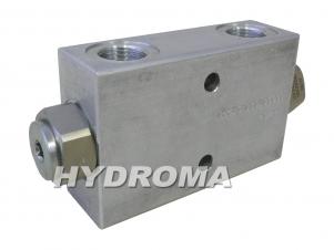 Купить Клапан - замок гидравлический двухсторо VSO-DE-12, opening pressure 1 bar, max. 350 bar, no o-ring, G 1/2, pilot ratio 3,2:1