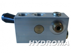 Buy Valve VSO-SE-FCV-DL-D, opening pressure 1,6 bar, max. 30 l/min., max. 350 bar, G 3/8, pilot ratio 5,4:1