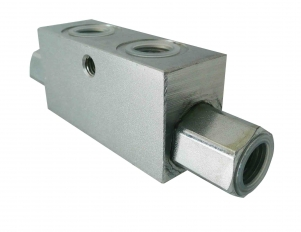 Buy Hydrolock bilateral VBPDE 3/8L, 35 l/min., max. 350 bar, pilot ratio 1:5,5