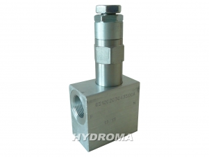 Buy Safety valve of direct action VSDC-150-34-35, max. 350 bar, max. 150 l/min.