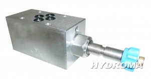 Buy The valve - is promenut. Plate of NG EM-VEI8A-CETOP3-B, Q=40 l/min., 250 bar