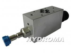 Buy The ventil valve - medzidoska NG6, s 2 sedlovými ventilmi 2/2 EM-VEI8ANA-STV-P1-F6-CETOP3, max. 250 bar, max. 40 l/min.