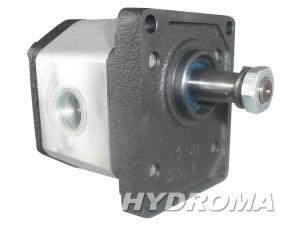 Купить Гидромотор шестерённый GHM2BK1-D-30-T-P431-P610, Q=21,1cm3, 30,1l/min., max. 3200 rpm, clockwise