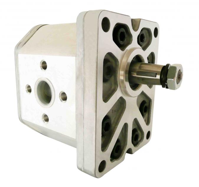 Satın al Насос шестеренный ALP3-D-80, Q = 52 cm 3, 74l/dak, max. 220 bar, max. 2400 rpm, flanşlar 56 mm, saat yönünde
