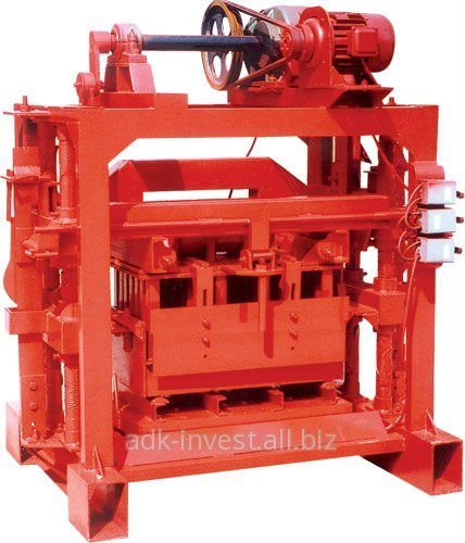 Buy The Machine model 4-40B for production of slag stone