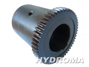 Купить Элемент муфты -полумуфта электродвигателя GB48P-MOTOR SIDE+ELASTIC ELEMENT