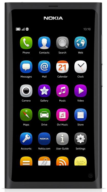 Телефон мобильный Nokia N9