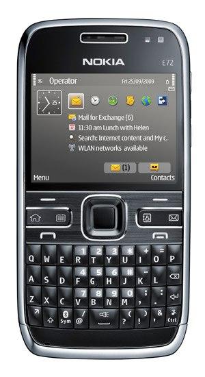 Телефон мобильный Nokia E72