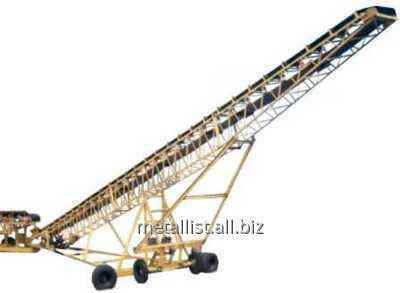 Установка для погрузки, разгрузки и транспортировки руды и угля - Укладчик руды радиальный