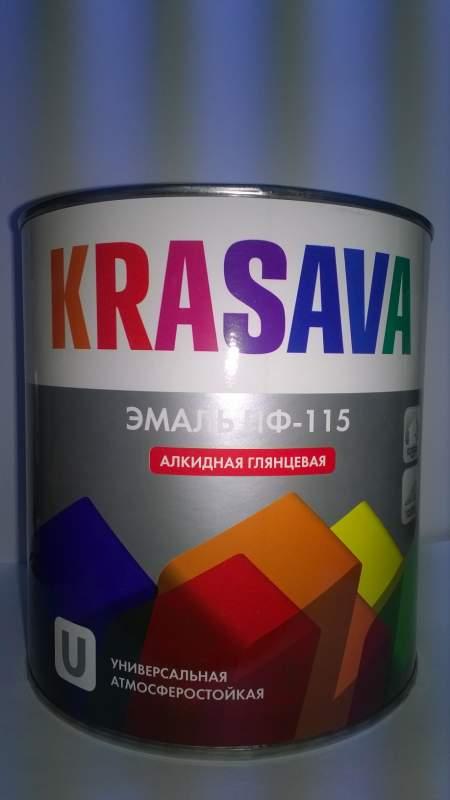 Эмаль KRASAVA ПФ 115