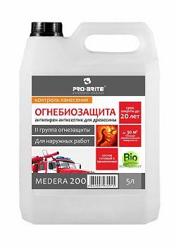 Антипирен, II группа огнезащиты, с антисептическими свойствами MEDERA 200 Cherry, Артикул 707
