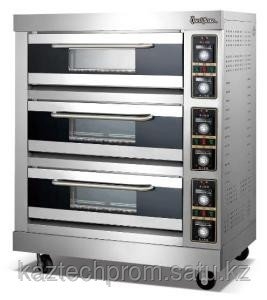 Печь газовая хлебопекарная 3-х секционная