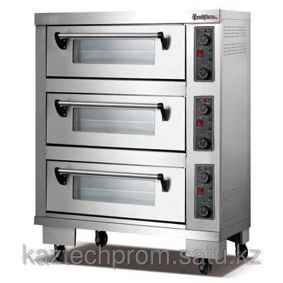 Печь электрическая, хлебопекарная 3-х секционная