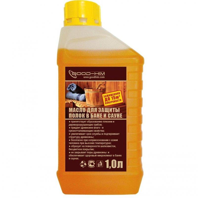 Купить Масло для защиты полок бань и саун-1л.