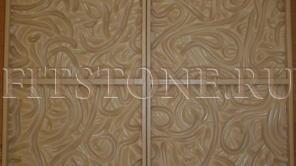 Купить Полиуретановая форма для изготовления искусственного камня 1 кв. м. форм 3D панель