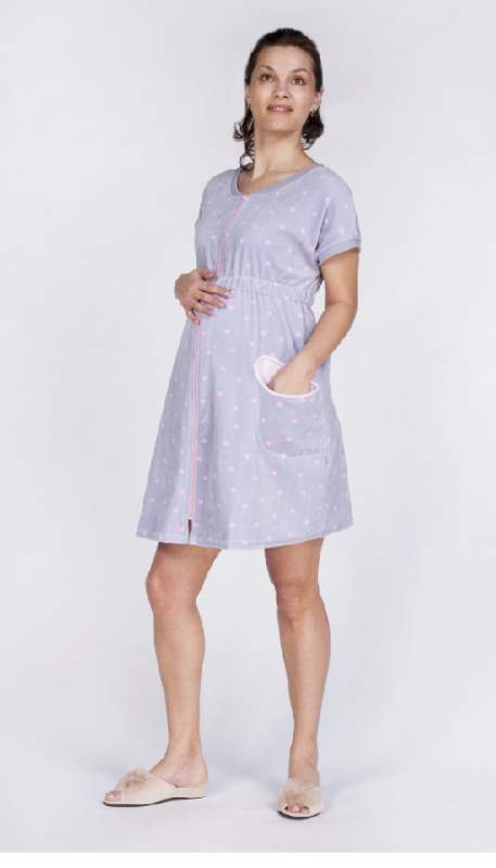Dressing gowns for pregnant women and the feeding mothers buy in ...