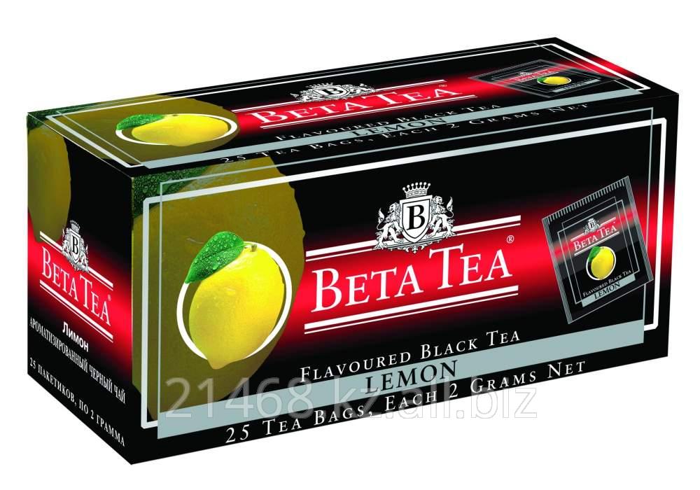 Beta Tea, Lemon Packaged