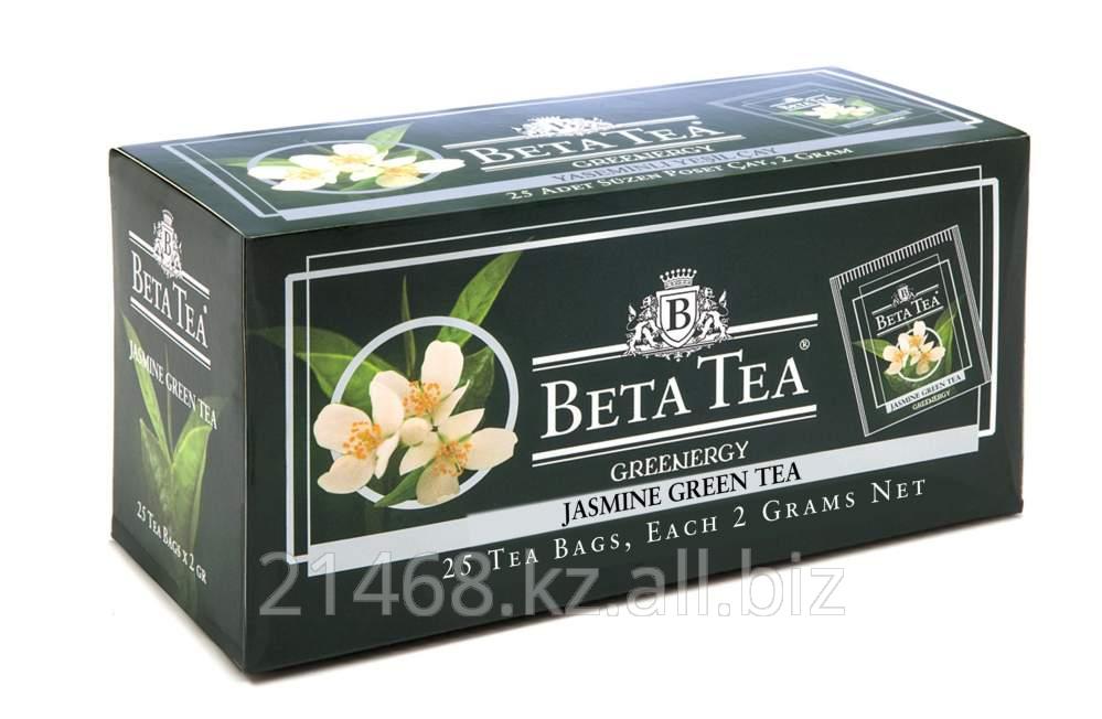 Купить Beta Jasmine Green Tea, Пакетированный