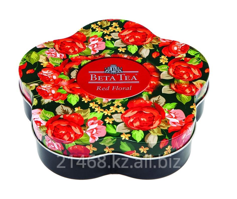 Beta Tea, Red Floral, Ж/Б