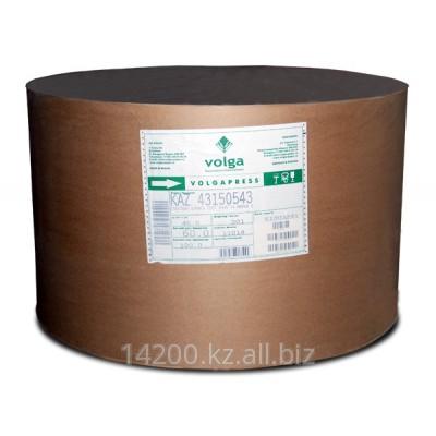 Бумага газетная Волга, белизна 63%  плотность 45 гм2  формат 42 см