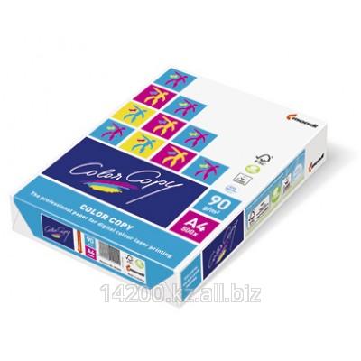 Бумага для цветной лазерной печати Color Copy МONDI без покрытия, плотность 90 гм2 формат А4, 21х29,7см
