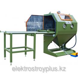 Купить Пескоструйная камера ZITREK КСО-110 И-М с выдвижным поворотным столом на выкатной телеге