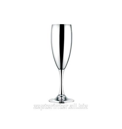 Купить Бокалы для шампанского с серебряным напылением 6 шт. LS-123-1