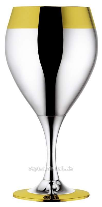 Купить Набор бокалов для воды посеребр.с золот.декором, 6 шт. LS-173-3-DG