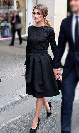 22e09c828db Коктейльное платье черное с пышной юбкой 1811 купить в Алматы
