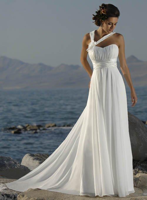 Модели вечерних платьев в греческом стиле.