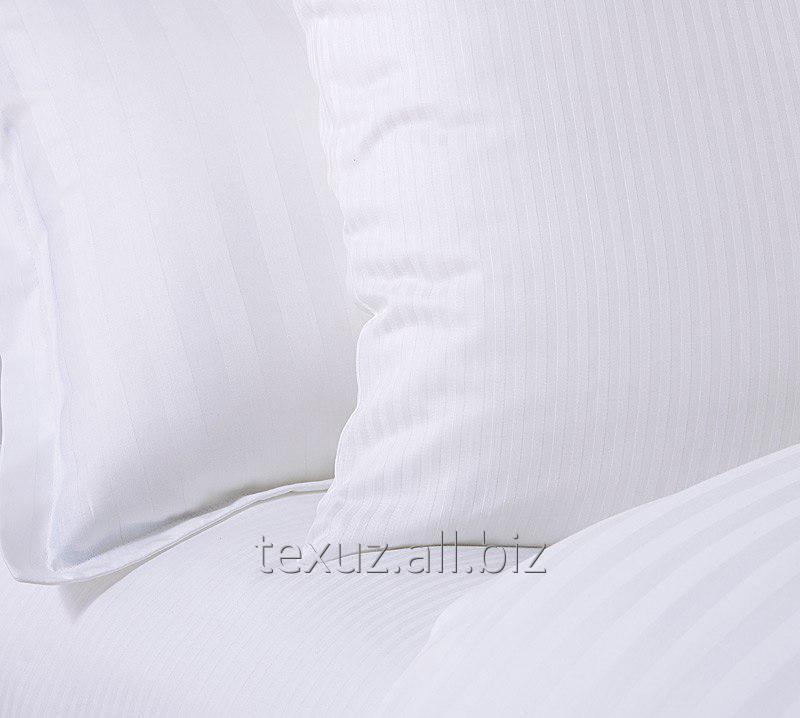 Комплект постельного белья из страйп сатина 1,5 сп.