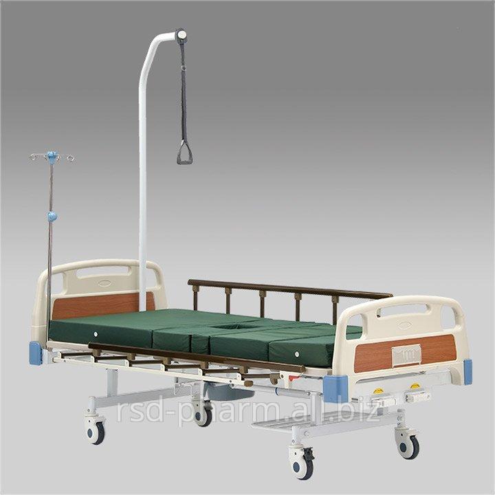 Кровать функциональная механическая Armed с принадлежностями  RS 104-Е (с санитарным приспособлением )