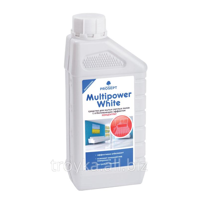 Купить Средство для мытья светлых полов с отбеливающим эффектом MultipowerWhite