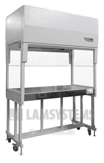 Купить Ламинарный бокс с вертикальным потоком воздуха для работы операторов друг напротив друга БАВнп-01-Ламинар-С-1,2 vis-a-vis