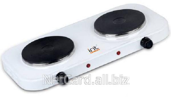 Купить Электрическая плита IRIT IR-8008, 2-конф.*1.0кВт,закр.спир