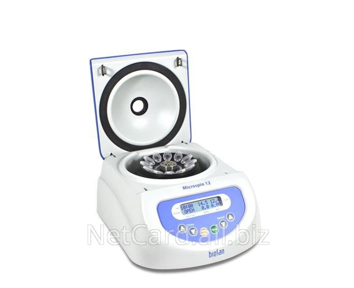 Купить Лабораторное оборудование Microspin 12 Biosan , до 14500об/мин ,12*1,5/2,0мл