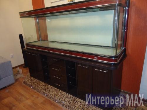 Тумба под аквариум фото - выполненные заказы Мебель в Караганде на заказ