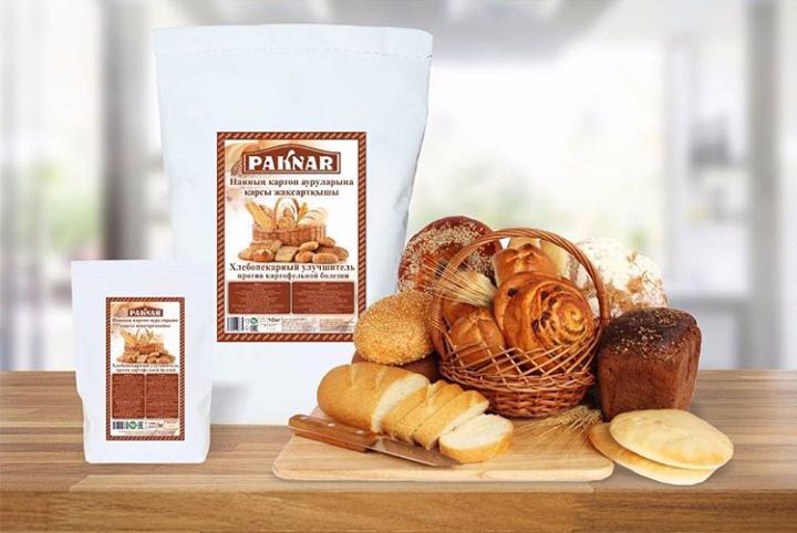 Купить  Хлебопекарный улучшитель «PAKNAR» против картофельный болезни.