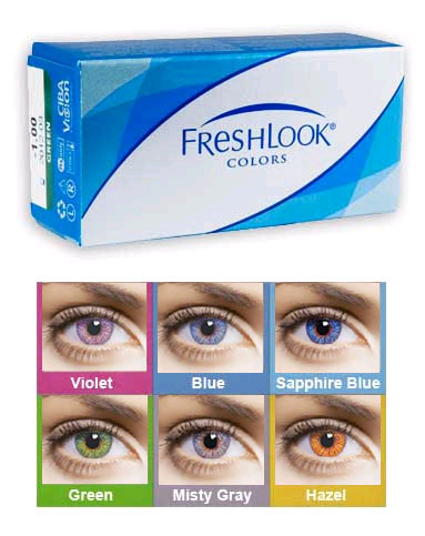 92e3100ce82f CIBA Vision FreshLook Colors Color contact lenses