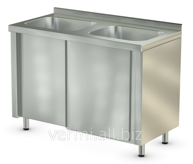 Buy Table of CTM-2/1200/600 700 compartments with two sinks