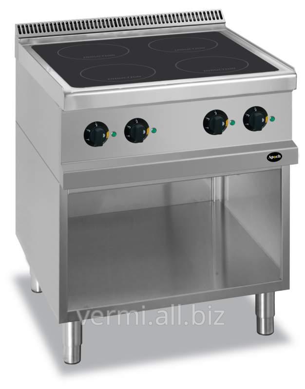 Купить Плита индукционная 4-х конфорочная 700 Серии Apach APRI-77P Код: 1099100