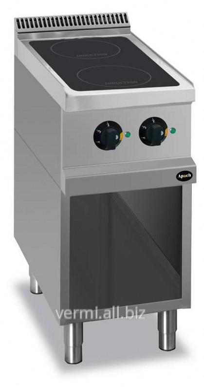 Купить Плита индукционная 2-х конфорочная 900 Серии Apach APRI-49P, Код: 1161150