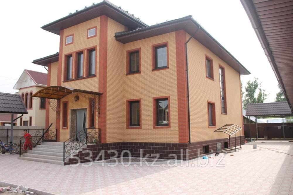 Купить Дом отделаный фасадными панелями ИДЕАЛ