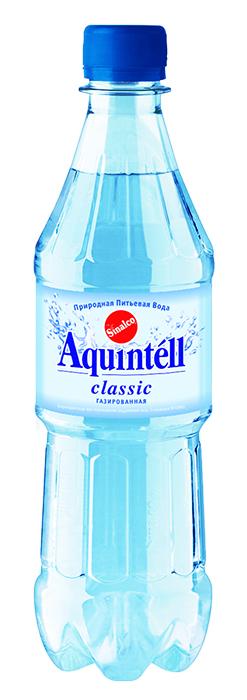 Купить Вода питьевая Aquintell газированная 0,5 л